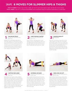 6 Lower Body Exercises for Slimmer Hips and Thighs - Shape Magazine
