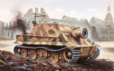 World War II: The Sturmtiger Self-Propelled Assault Gun #history | via @learninghistory