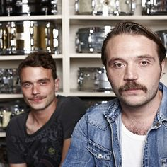 Meet the family, drummers since way back. Proud Movember sons.