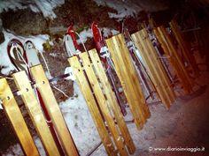 #bloggerday Moena - Pronti per la discesa con gli slittini! by DiarioInViaggio, via Flickr