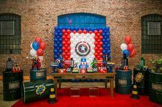Decoração infantil- Capitão América- Vingadores- avengers- dica de decoração- aniversário vingadores- como decorar a festa do seu filho- idéias de convites-blog gosto tanto- centro de mesa avengers-lembrancinha-Fredinho - tatizanichellifotografia -5