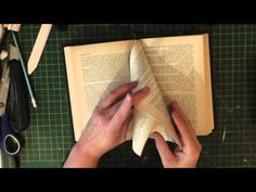 New book fold pattern stunning arches design tutorial - YouTube