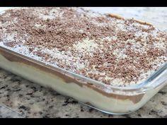 Pavê de chocolate branco e preto - YouTube