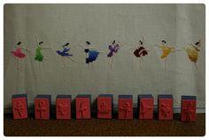Ballerina Dancer dancing Cross Stitching Kreuzstich Tanzen Tänzerin