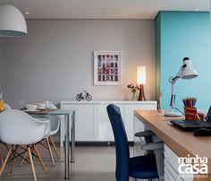 Revista MinhaCASA - Sala multiúso: estar, jantar e home office