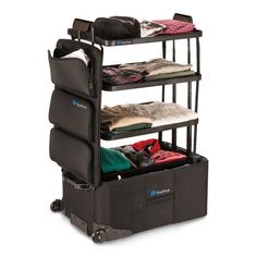 This Clever Suitcase Is Basically A Closet On Wheels