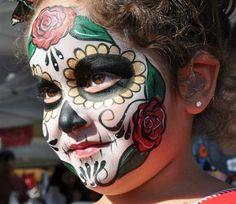San Diego Dia de los Muertos Makeup Class