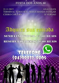 BLOG DJ AILDO: Festa dos anos 60 em Cerro Corá será o grande even...