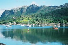 One of my favorite places in Scotland,  Plockton.  (Hamish MacBeth was filmed here) 5 miles from the Skye Bridge