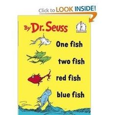 One Fish Two Fish Red Fish Blue Fish by Maiden11976