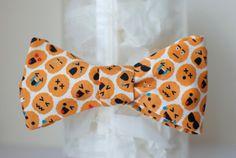 BOWTIE | ORANGE emoji brains by handmadephd. Explore more products on http://handmadephd.etsy.com