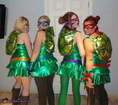 Teenage Mutant Ninja Turtles Group Costume - 2013 Halloween Costume Contest