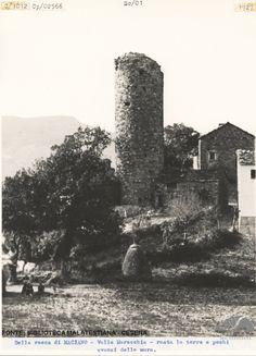 Maciano, Valmarecchia, 1927 #castle #fortress #oldphoto