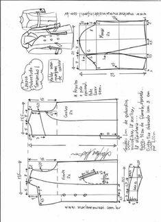 T Shirt Sewing Pattern, Blazer Pattern, Collar Pattern, Jacket Pattern, Coat Patterns, Clothing Patterns, Sewing Patterns, Hope Fashion, Fashion Tips