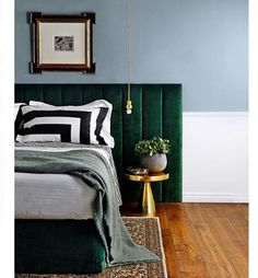 Today we are talking about green #Green&Gold #VelvetBedHead