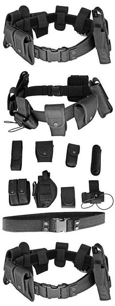Other Electric Airsoft Guns 31684: Adjustable And Quick Release Complete Military Tactical Modular Duty Utility Belt -> BUY IT NOW ONLY: $31.95 on eBay!