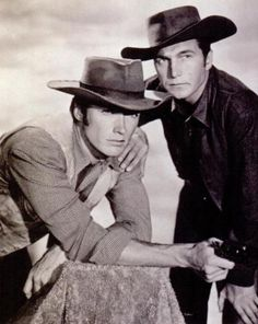 "clint eastwood, eric fleming - ""rawhide"""