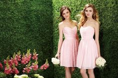 Perfect for a summer or spring wedding. Available at Elena Bridal, NY
