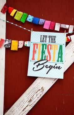 "WhipperBerry's ""Let the Fiesta Begin"" FREE Printable from the #printableclub  12 FREE PRINTABLES EACH MONTH!!"
