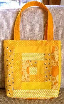 tute: Patchwork tote bag | West Coast Crafty