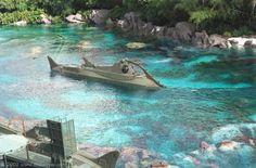 - Fantasyland - Magic Kingdom - Disney Pix: The Ultimate Disney Photo Adventure Disney World Magic Kingdom, Walt Disney World, Leagues Under The Sea, Submarines, Amusement Park, Disneyland, Cinema, Adventure, Nautilus