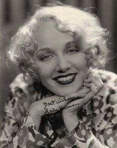 happy birthday, Leila Hyams - this New York-born actress had a saucy, sassy presence in some notable films of the 1920s and 30s, including Spite Marriage (1929), Freaks (1932) and Red-Headed Woman (1932).