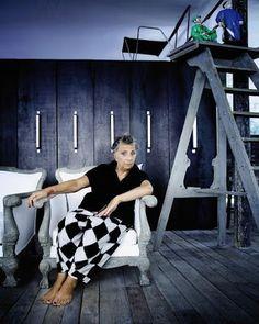 Buzz Deco Design Magazine Décoration Maison: Paola Navone transforme en or tout ce qu'elle touche...!!!!!