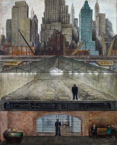 Diego Rivera. Frozen Assets (1931)