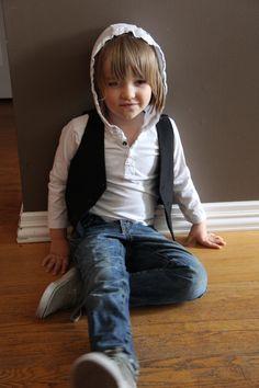Little boy style. Shirt: Mexx, Vest: James Morgan, Jeans: Gap, Shoes: Penguin. This boy has swag.