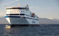 November 5 -- BC Ferries issues modified schedule for Northern Expedition owing to Wind Conditions