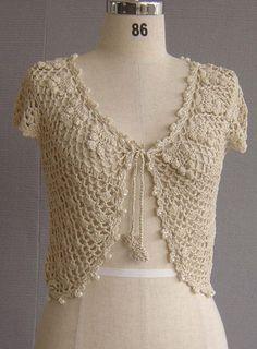 Sweaters and shawls crochet hand crochet sweater crochet for beginners Débardeurs Au Crochet, Crochet Bolero Pattern, Crochet Capas, Gilet Crochet, Crochet Jacket, Crochet Woman, Crochet Cardigan, Love Crochet, Beautiful Crochet