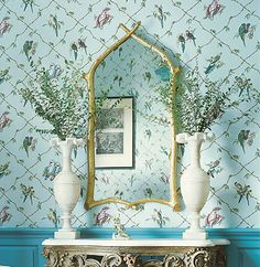 Thibaut - Wallpaper and Fabric Parrots