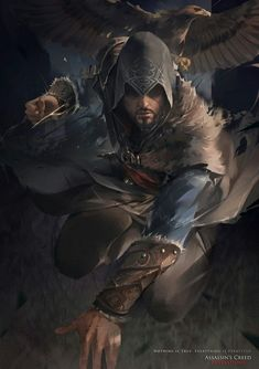 Ezio Auditore by Assassins Creed Unity, Assassins Creed Series, Assassins Creed Tattoo, Assassin's Creed Brotherhood, Assasins Cred, Assassin's Creed Wallpaper, Connor Kenway, All Assassin's Creed, Desenho Tattoo