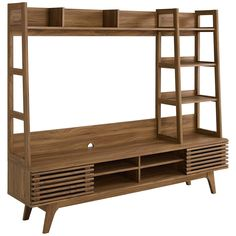 Tv Stand And Entertainment Center, Entertainment Units, Mid Century Modern Living Room, Inexpensive Furniture, Bedroom Sets, Modern Furniture, 3 D, Mid-century Modern, New Homes