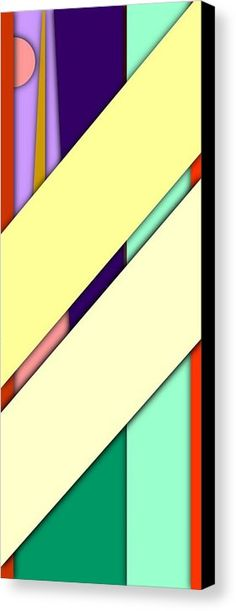 Simple Abstract 252 Canvas Print by Chris Butler. #art #deco #design #interior #home #Decor #wall #modern #contemporary #homedecor #abstractart #interiordesign #tasteful