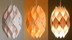DIY lamp (Eternal flame) - learn how to make a paper lampshade/lantern -...