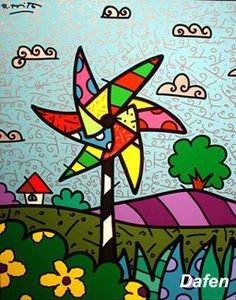 Pop Art by Romero Britto♥❤♥ Pop Art, Graffiti Painting, Arte Popular, Arts Ed, Art Plastique, Art Lessons, Sculpture Art, Art For Kids, Art Projects