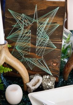 Wood Table Numbers Diy String Art 21 Ideas For 2019 Diy Projects To Try, Craft Projects, String Art Diy, Wedding Table Numbers, Wedding Decor, Wedding Souvenir, Diy Wedding, Wedding Favors, Dream Wedding