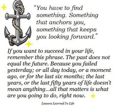reason why i want an anchor tattoo and the fact that it also means stability be grounded in Christ