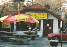 Mustard's Last Stand, Evanston, Illinois ~ Great food! Evanston Chicago, Evanston Illinois, Chicago Hot Dog, Nothing's Changed, My Kind Of Town, Where The Heart Is, North Shore, Holiday Travel, Places Ive Been