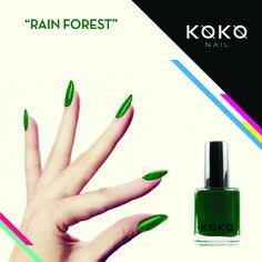#124RainForest from #KOKO #Nail #Polish #France