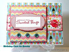 I'd rather be crafting: Happy Birthday Brooke!