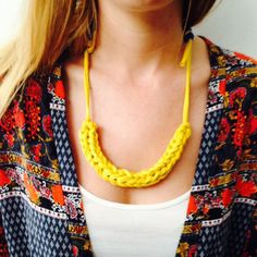 Fancy an oh so on trend crafty accessories update? This simple crochet project is a great way to inject a pop of color to your look!