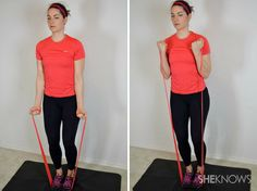 Resistance band workouts that tone