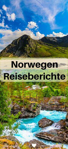 Du möchtest nach Norwegen reisen und weißt noch nicht genau, was dich dort erwartet? Du willst eine schöne Route festlegen und dir vorher schon ansehen, welche Sehenswürdigkeiten dir zusagen? Dann stöbere doch mal durch unsere Norwegen Reiseberichte und lass dich für deinen eigenen Norwegen Urlaub inspirieren. #norwegen #reiseberichte #urlaub