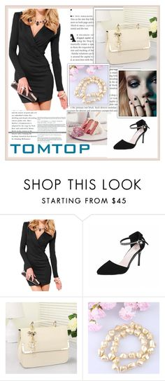 """TOMTOP+ 17"" by damira-dlxv ❤ liked on Polyvore"