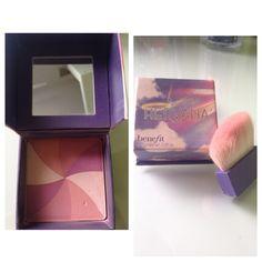 HERVANA by Benefit  ---good karma!--- £20.00 €22.00/25.00 A'good karma' face powder- blush  ❤️❤️❤️