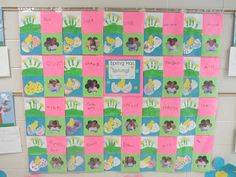 quilt for open house ..use picture and handprint