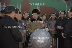 Clues from a single propaganda photo reveal details about North Korea's expanding weapons programs and internal politics.