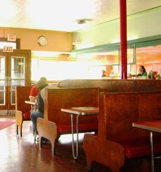 Inside of Georges Coney Island Worcester Ma